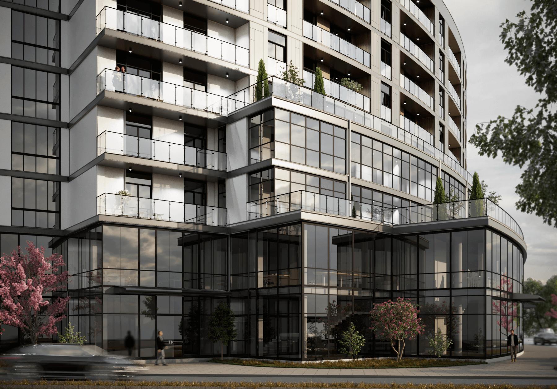 Житловий комплекс «Кристал» (м. Ужгород) - Проектна група ФОП РІЗАК ВАСИЛЬ ВАСИЛЬОВИЧ